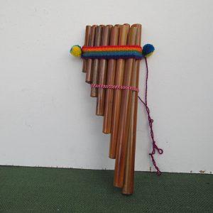 Peruvian traditional zampona instrument
