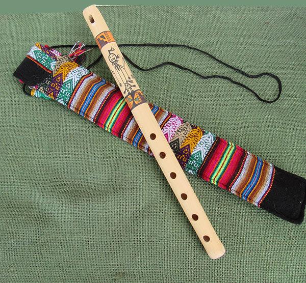 Recorder made by Urbano Huanca