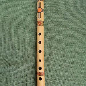 Traditional Peruvian bamboo quena