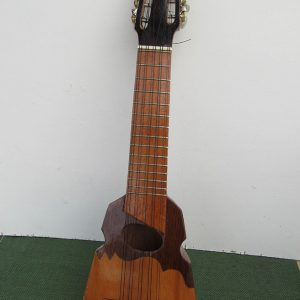 Traditional guitar charango designed in Peru