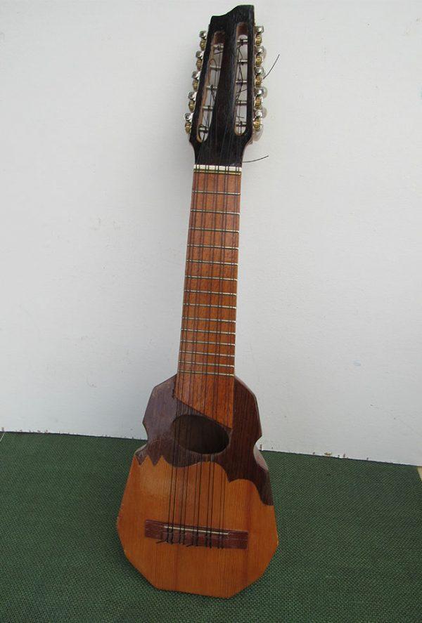 Traditional guitar charango designed in Peru
