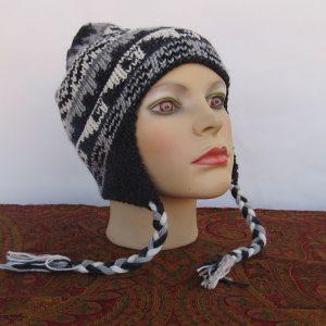 Alpaca wool Andes grey hat