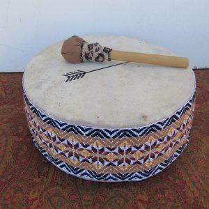 Peruvian design percussion