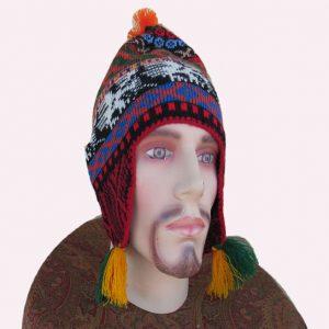 Designed by Hermilinda Mestas alpaca hat