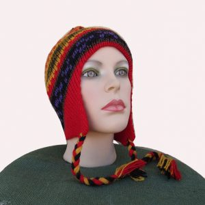 Mestas crafter designs this traditional andes hat