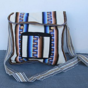 Peruvian cotton carry-on crafted by Rojas family