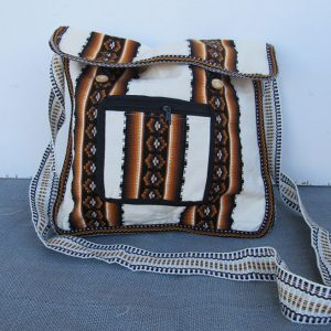Hand loomed sack in cotton