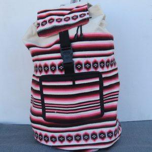 Andes tote travel bag, backpack, Peru, handmade, purse Organic backpack made in Peru