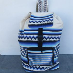 Andes tote travel bag, backpack, Peru, handmade, purse Rojas family design this cotton bag