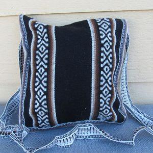 Andes tote travel bag, Peru, handmade