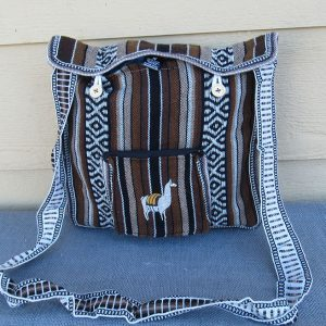 Andes tote travel bag, Peru, handmade Made in Puno by Mestas family