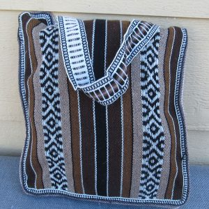 Andes tote travel bag, Peru, handmade