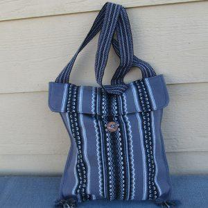 Andes shoulder bag, Peru, handmade Mario Rojas designed this tote bag