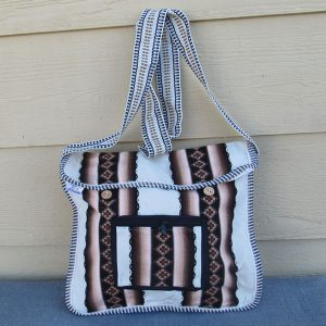 Andes cotton shoulder bag, Peru, handmade. Peruvian item Made in Peru by Rojas family
