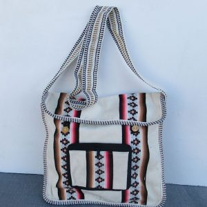 Andes cotton shoulder bag, Peru, handmade