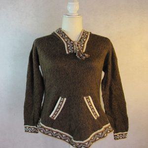 Dark Brown pullover Sweater