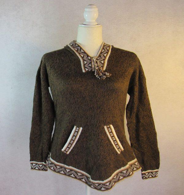 Dark Brown pullover Sweater