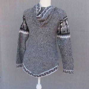 Wool Alpaca Clothing, Andes Store, Hoodie, Peru.