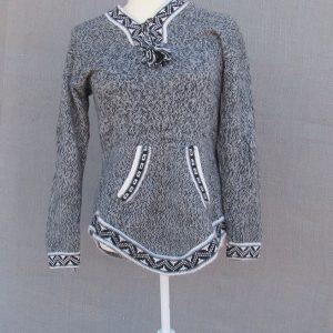 Wool Alpaca Clothing, Andes Store, Hoodie, Peru. Designed by Mestas family in Puno-Peru from fine alpaca wool