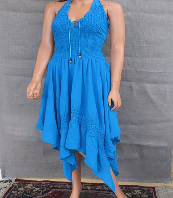 Designed by Jose Gonsales the cotton dress