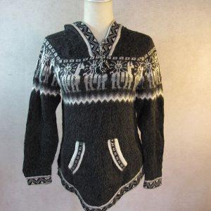 Peruvian design alpaca wool sweater