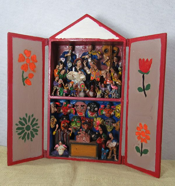 Retablo made by Fortunato Ore