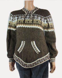 attractive and elegant alpaca sweater