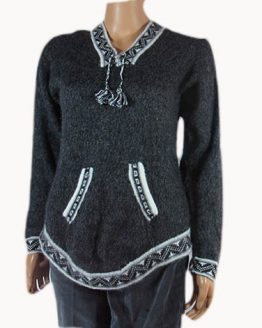 Made by Mestas family from alpaca wool sweater