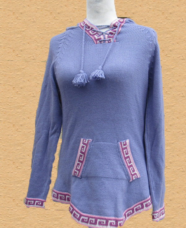 Andes sweater made from alpaca