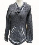 Hand crafted pullover alpaca sweater