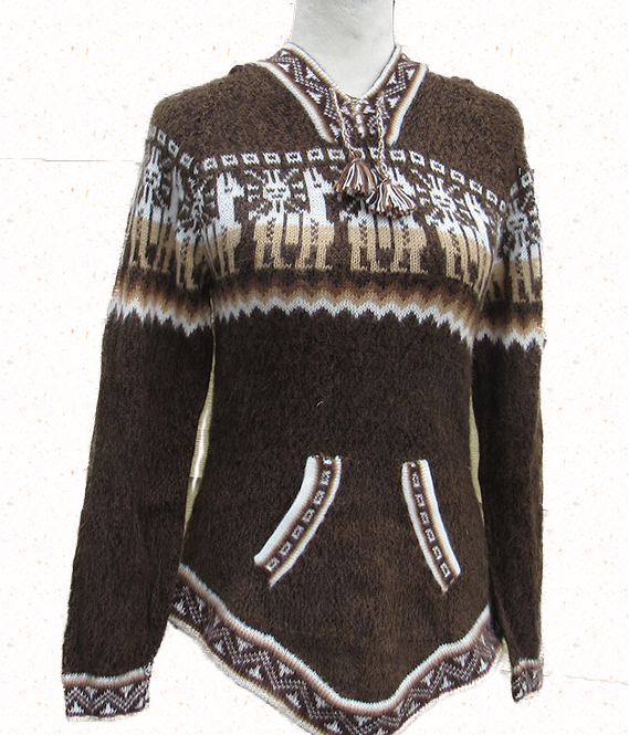 Llama design Andes Sweater