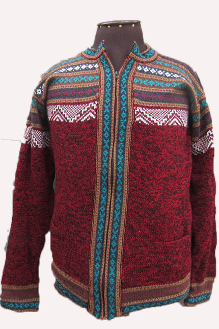 Warm Peruvian alpaca sweater