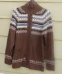 Andes men's sweater made in Peru