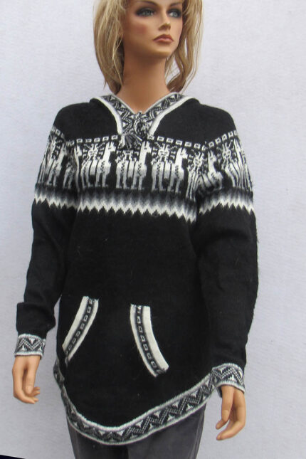 sweater made in Peru from alpaca wool