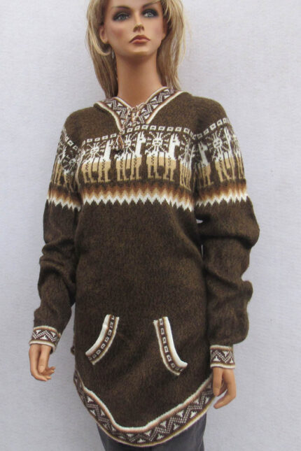 Hand crafted alpaca Andes sweater
