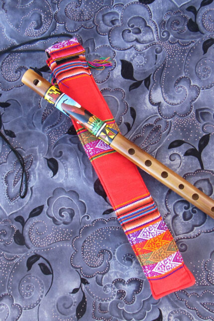 Painted flute